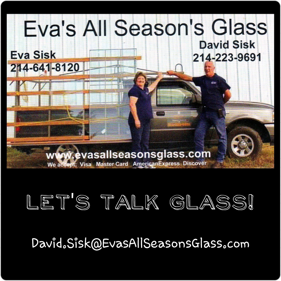 Eva's All Seasons Glass LLC